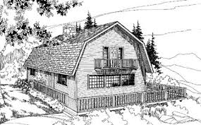gambrel house plans barn shaped gambrel room 7884ld architectural designs house