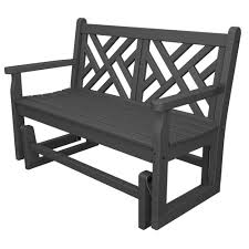 plastic outdoor bench bench decoration