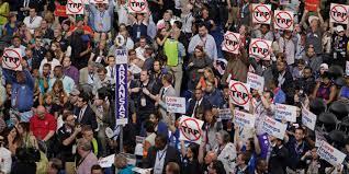 video shows arkansas democrats barring bernie sanders delegate
