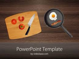 Kitchen Chef Table by Kitchen Table Powerpoint Table Slidesbase