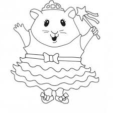 guinea pig coloring pages coloring book