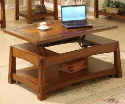 coffee table extendable top lift top coffee table solid wood