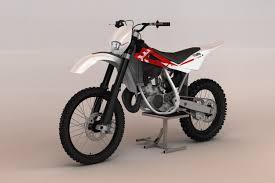 model motocross bikes dirtbike husqvarna 125 vehicles lugher 3d