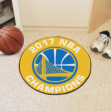 Yellow Round Area Rugs State Warriros 2017 Nba Champions Round Area Rug