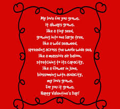 valentines day for him valentines day poem for him images wishes messages quotes