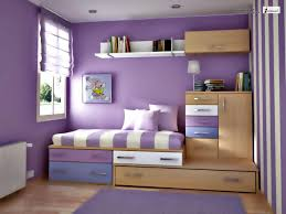 white purple color combination interior design for small bedroom