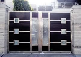 interior gates home interior futuristic stainless steel home front gates decorating