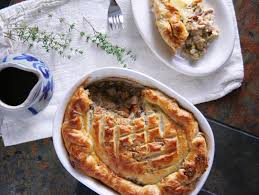 how to make a turkey pot pie with thanksgiving leftovers turkey leek pot pie with sage u0026 walnut studded puff pastry