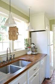Wood Kitchen Countertops by Diy Kitchen Makeover For Under 650 Kitchens And House