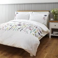 leckford duvet cover and pillowcase set