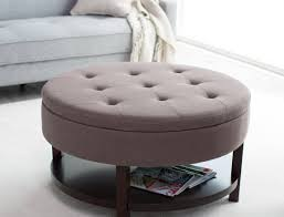 stool stunning ottoman round images design furniture young