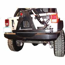 jeep rear bumper rear bumper with tire carrier 07 jk more