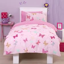 Childrens Cot Bed Duvet Sets Flutter Around Butterfly Single Bedding Http Www