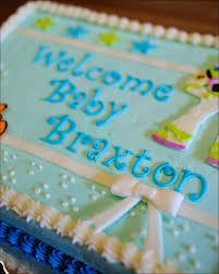 disney nemo u0026 buzz lightyear baby shower cake gray barn baking