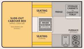 Ford Ranger Bed Dimensions Fleet Pop Up Regular 6 U0027 Bed Four Wheel Campers Low Profile