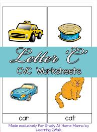 cvc worksheets h cvc words sugar spice and glitter