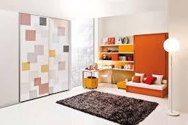Modern Teenage Bedroom Furniture by Modern Girls Bedroom Sturdy Twilight Loft Bed With Desk Drawers