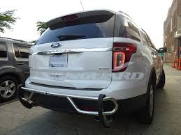 2012 Ford Exploer Install 11 16 Ford Explorer Rear Bumper Protector Guard Double
