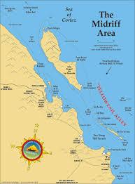 Baja Map Islands Fishing Map