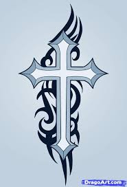 easy to draw cross designs how to draw a cross how to draw