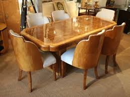 epstein art deco dining table and chairs sala pinterest art