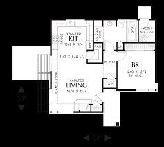 vacation rental house plans mascord house plan 1166 the dunland