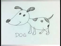 easy cartoon drawing how to draw a cartoon dog youtube