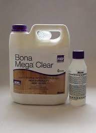 bona mega clear hd semi gloss water based wood floor finish gallon