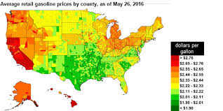 map us gas prices u s retail gasoline prices lowest since 2009 ahead of memorial
