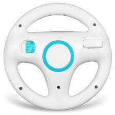 wii volante blanc volant sport steering wheel pour nintendo wii mario kart