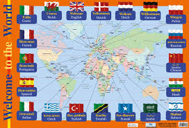 Map Of The World Poster by Welcome To The World Poster By Chart Media Chart Media