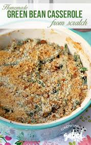 green bean casserole recipe from scratch