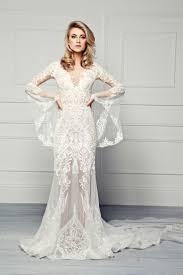 unique wedding dresses uk pallas couture therron 2017 embroidered lace sheath wedding