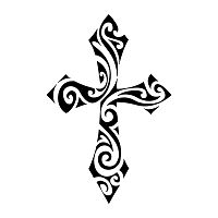 download free tribal cross stencil crosses stencils art