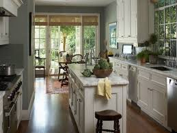 the best colors for small galley kitchen design kitchen designs