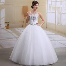 white wedding dress white princess wedding dress with diamonds sang maestro