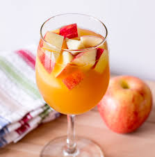 caramel apple sangria the wholesome dish