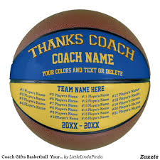 Basketball Coach Business Cards Basketball Signature Canvas Keepsake Have Team Sign For A