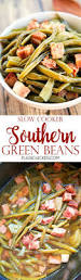 slow cooker southern green beans plain chicken