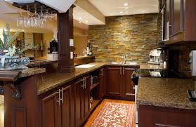 basement kitchen bar ideas how to finish a foundation wall we show two ways to