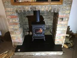 installation of low cost wood burning stove in taunton cosy stoves