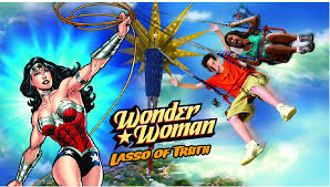 Six Flags In America Six Flags America Unveils Wonder Woman Lasso Of Truth Ride For