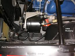 66 mustang power steering power steering question the fordification com forums