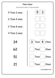 place value worksheets activity sheets for kids math worksheets