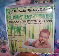 Bamboo Crib Mattress Bamboo Baby Cribtoddler Mattress Protector Cover Review Jpg