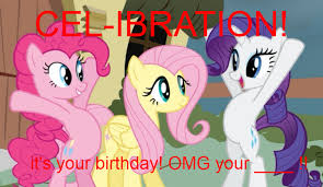 Mlp Birthday Card Mlp Birthday Card Made By Me By Sellybbelly411 On Deviantart