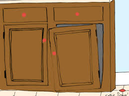 Kitchen Cabinet Door Repair by Cabinet Door Hinges Falling Off The Most Common Way A Cabinet Door