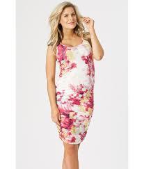 maternity clothes nz peianapod maternity clothes printed singlet dress summer pink aqua