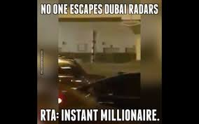 Dubai Memes - no one escapes dubai radars youtube