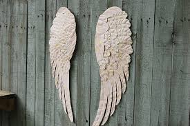 Wings Wall Decor Pink Angel Wings Wall Decor U2013 The Vintage Artistry